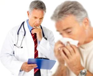 Аллерголог и пациент