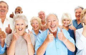 Пожилые люди могут быть здоровыми